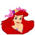 Ariel de kleine zeemeermin kleurplaat
