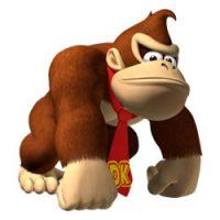 Donkey Kong kleurplaten