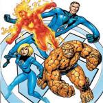 Fantastic Four kleurplaat