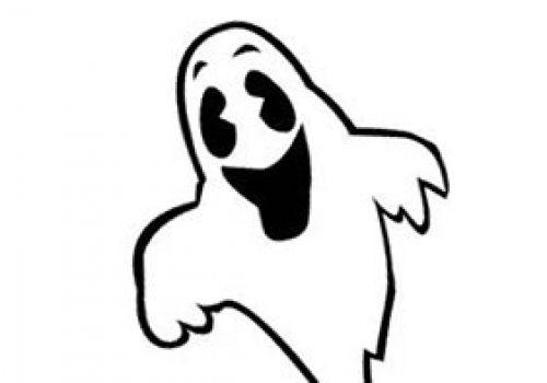 Kleurplaat Halloween Doodskop Archidev