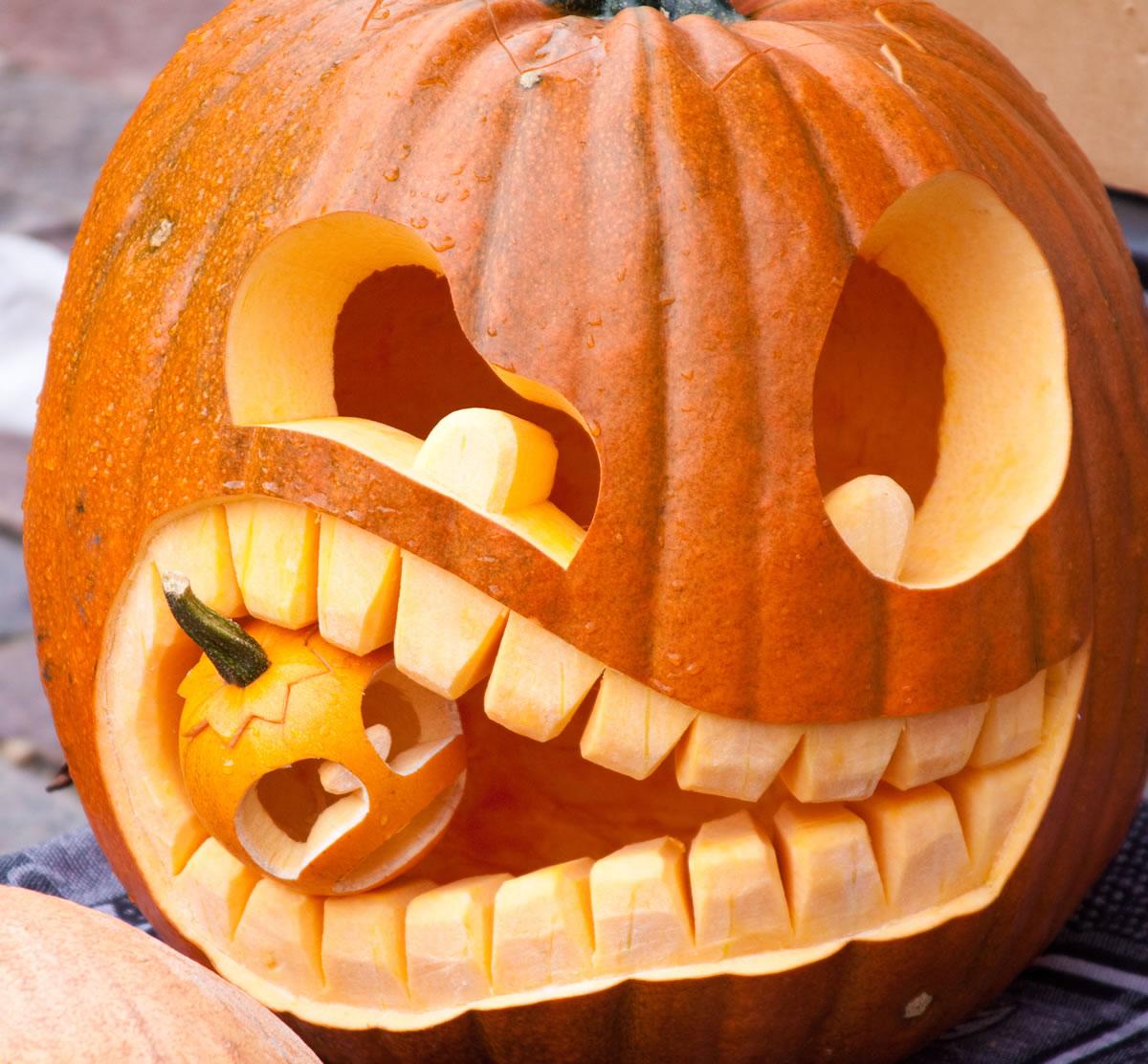 Pompoen Voor Halloween.Leuk Voor Kids Inspiratie Voor Een Halloweenpompoen