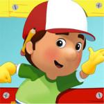 Handy Manny kleurplaat