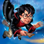 Harry Potter kleurplaat
