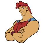 Hercules de griekse held kleurplaat