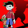 American dragon Jake Long kleurplaten