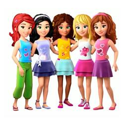 lego friends kleurplaten leuk voor