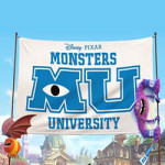 Monsters University kleurplaat