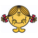 Mr. Men en Little Miss kleurplaat