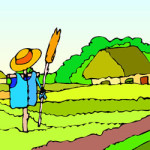 Op de boerderij kleurplaat