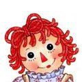 Raggedy Ann kleurplaten