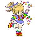 Rainbow Brite kleurplaten