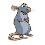 Ratatouille kleurplaat