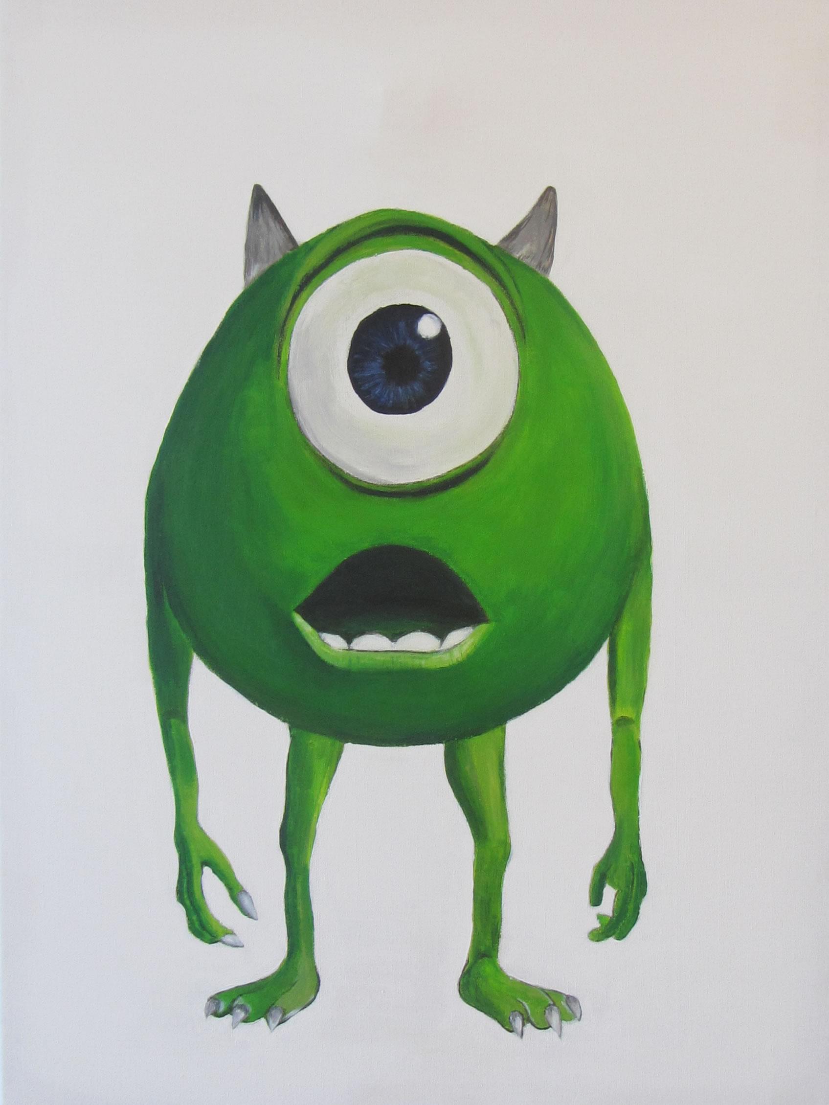 Leuk Voor Kids Monsters Inc Schilderij