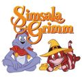 Simsala Grimm kleurplaat