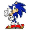 Sonic Hedgehog kleurplaten
