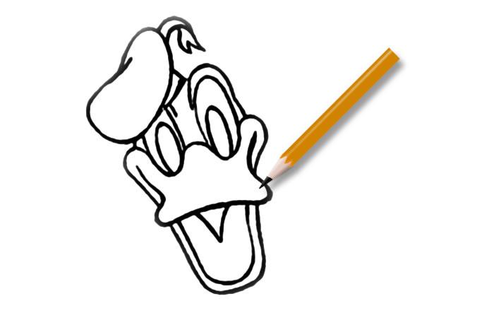 Genoeg Leuk voor kids   Hoe teken je Donald Duck? @KP92