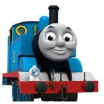 Thomas de stoom locomotief kleurplaat
