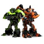 Transformers kleurplaat