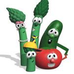 VeggieTales kleurplaat