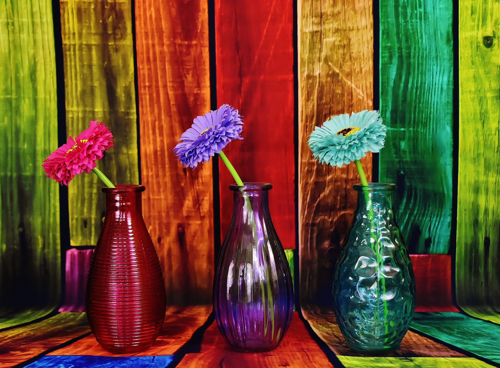 download wallpaper: bloemen op een vaasje wallpaper