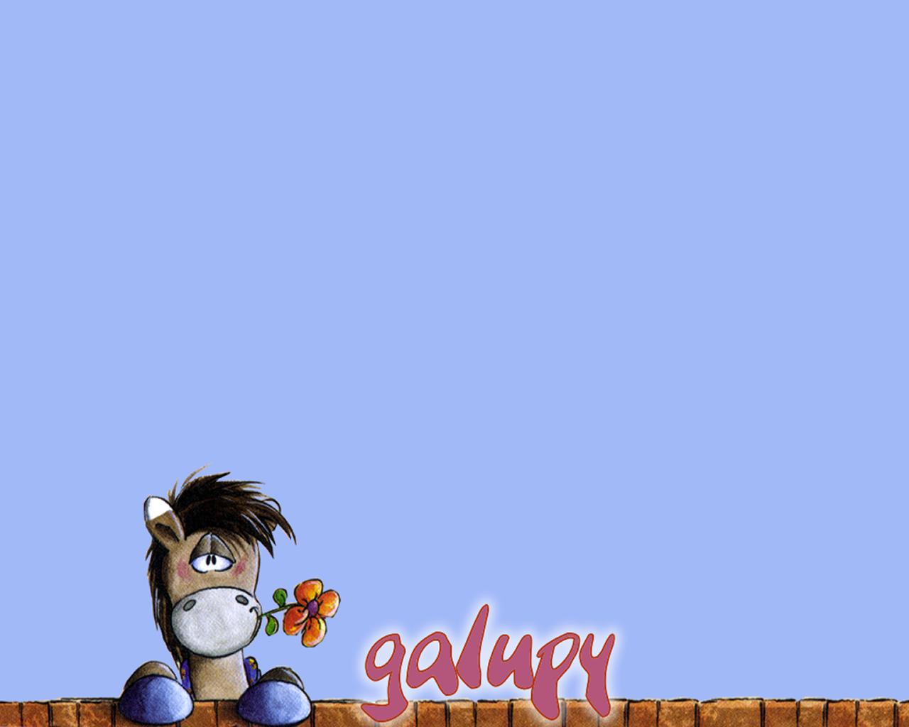download wallpaper: Diddl's vriendje Galupy wallpaper
