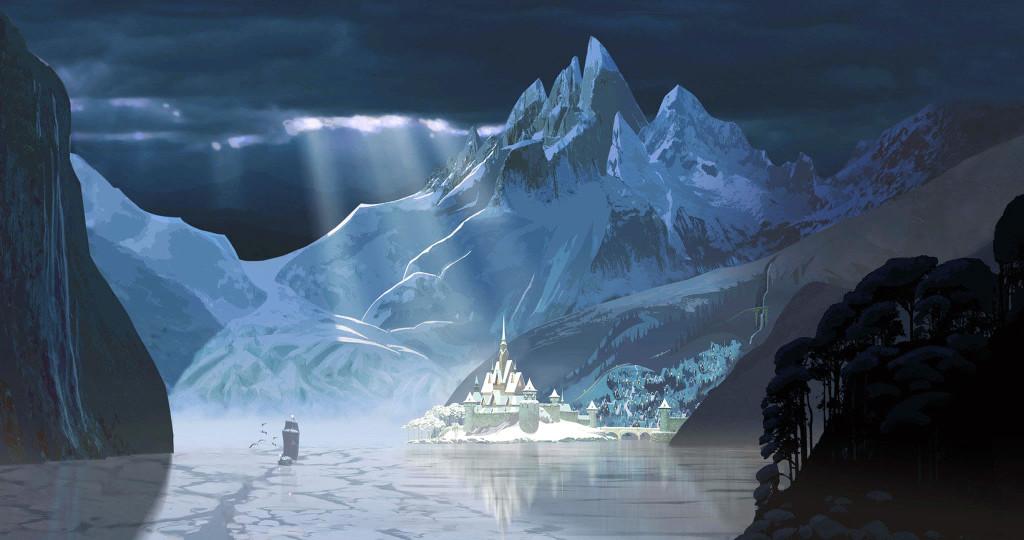 wallpaper: Disney Frozen concept art