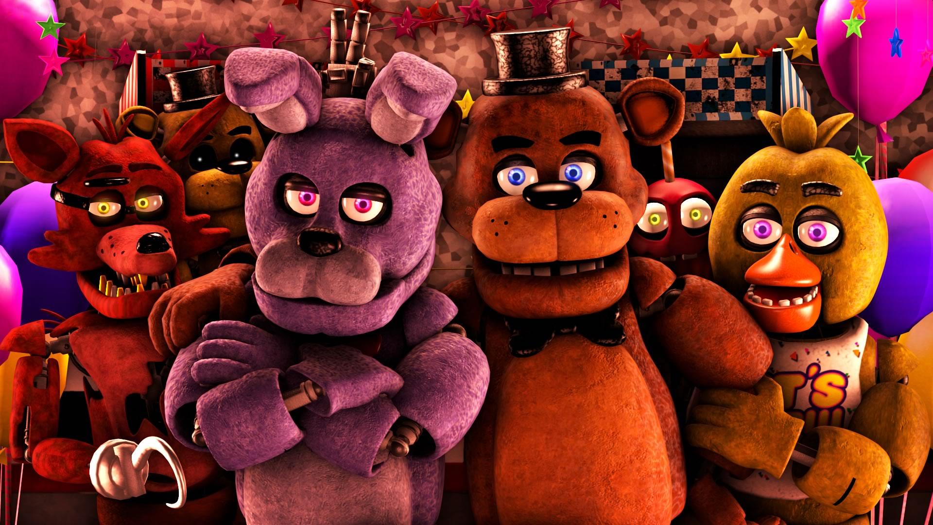 Leuk voor kids - wallpaper: Five Nights at Freddy's