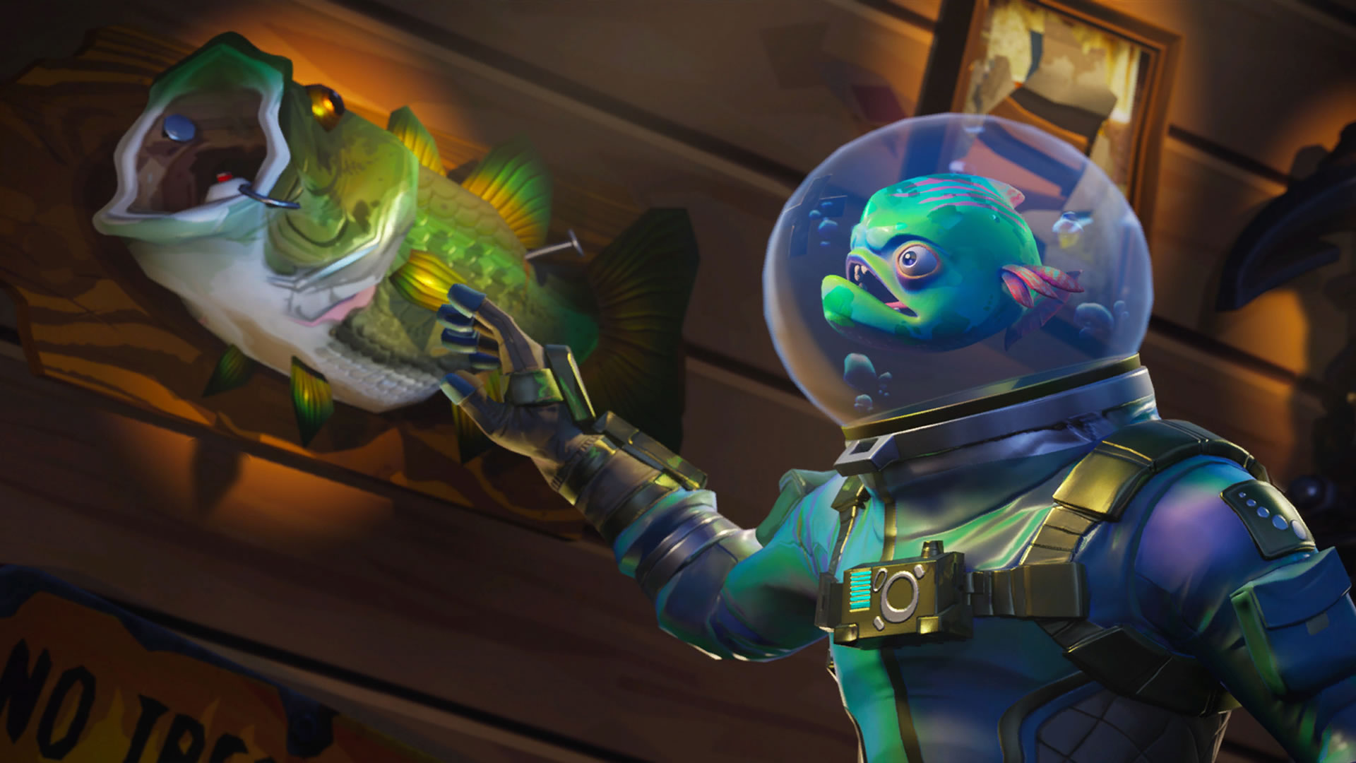 download wallpaper: Fortnite skin – Leviathan wallpaper