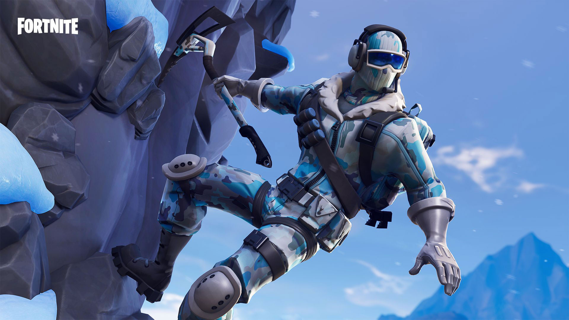 download wallpaper: Fortnite skin – Frostbite wallpaper