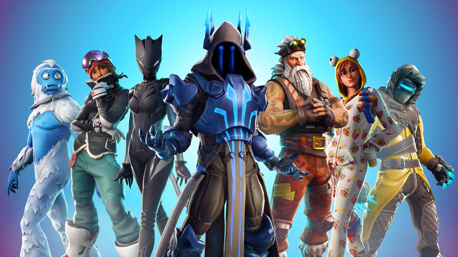 download wallpaper: Fortnite skins seizoen 7 wallpaper