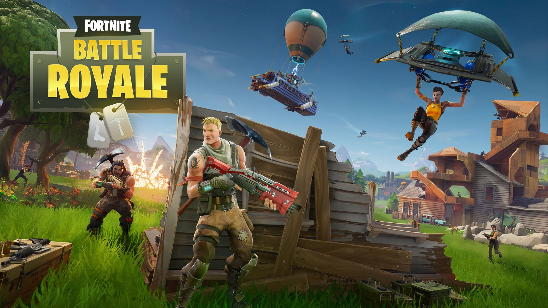 download Wallpaper: Fortnite Battle Royale wallpaper