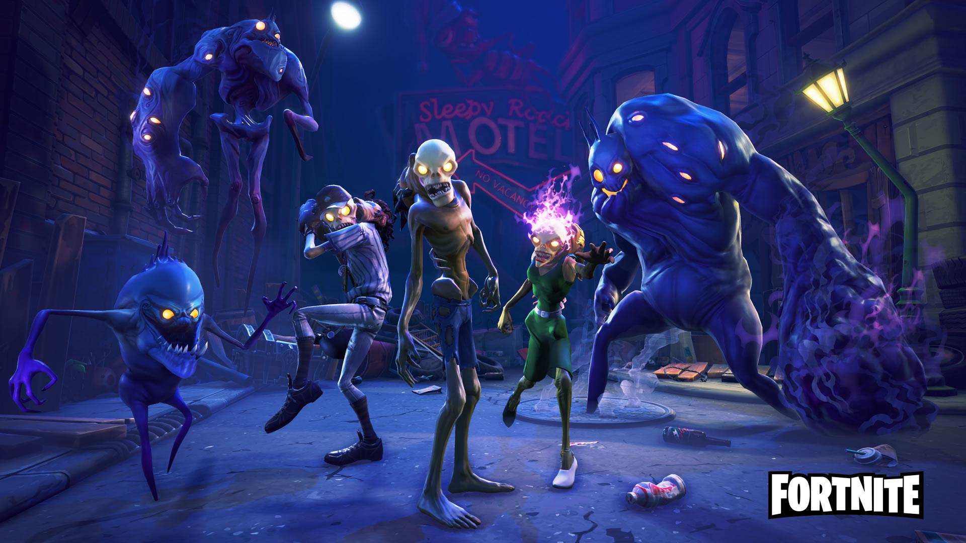 download wallpaper: Fortnite Monsters wallpaper