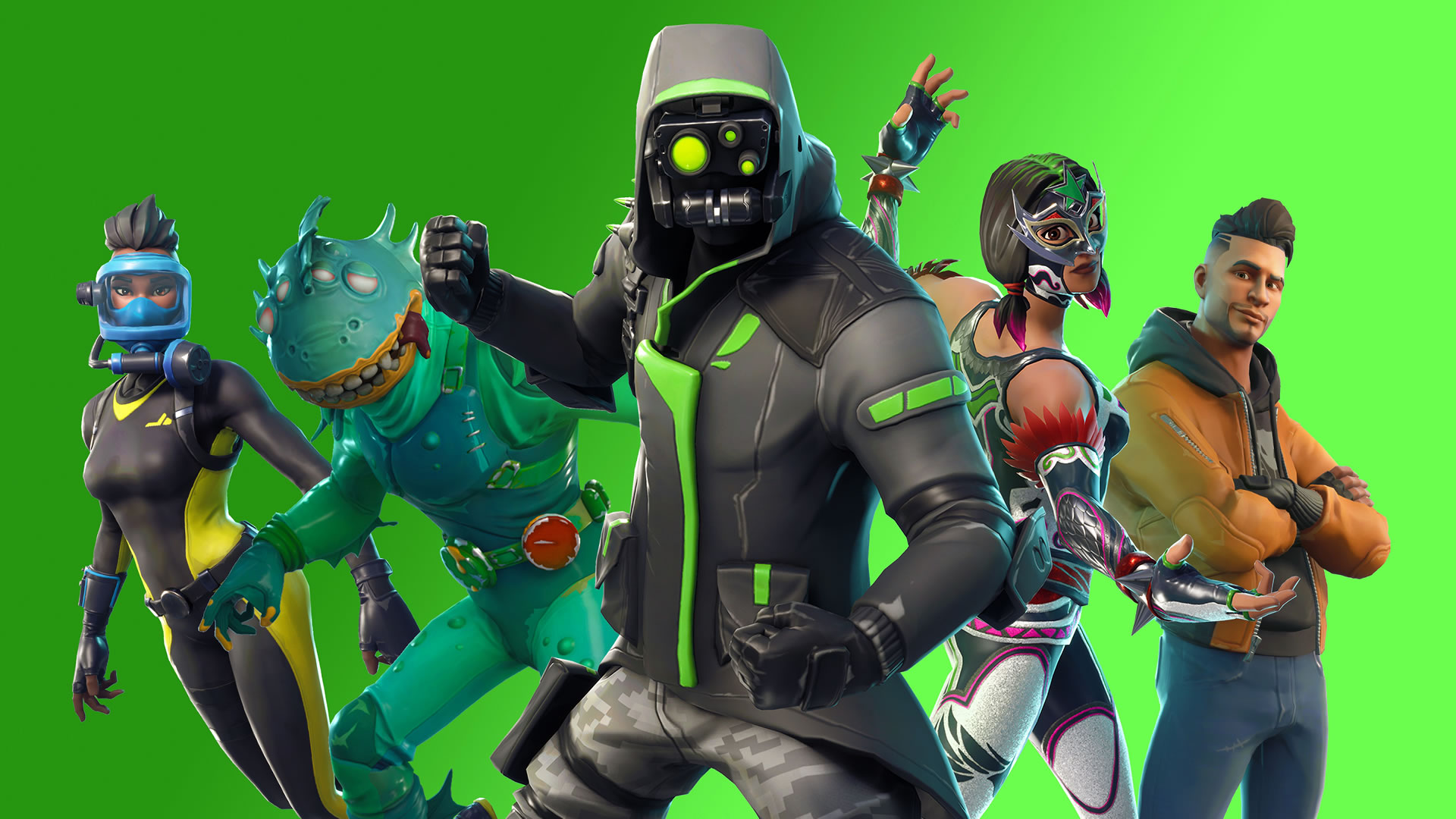 download wallpaper: Fortnite – Archetype wallpaper