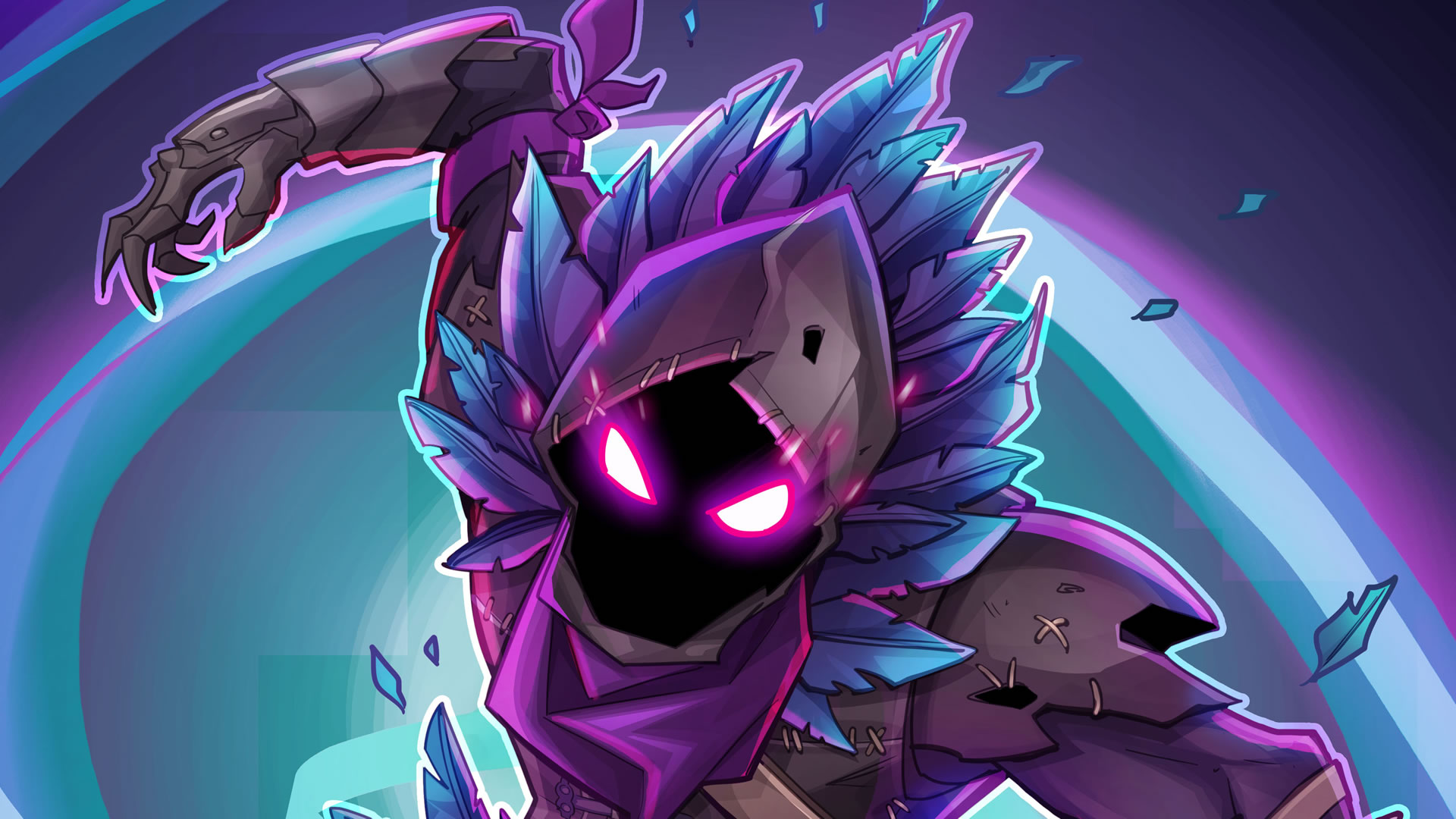 download wallpaper: Fortnite – Raven wallpaper