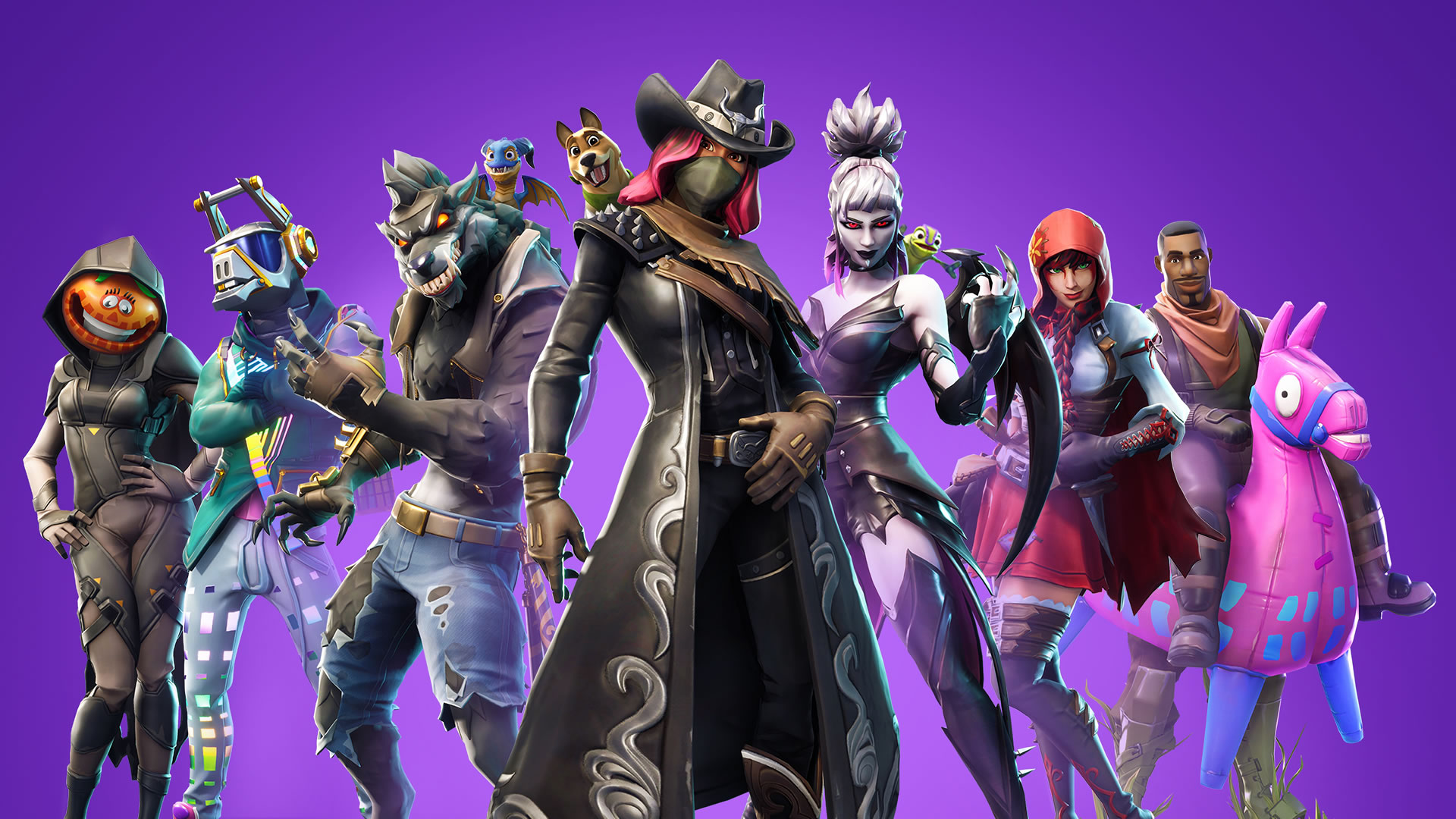 download wallpaper: Fortnite – seizoen 6 wallpaper