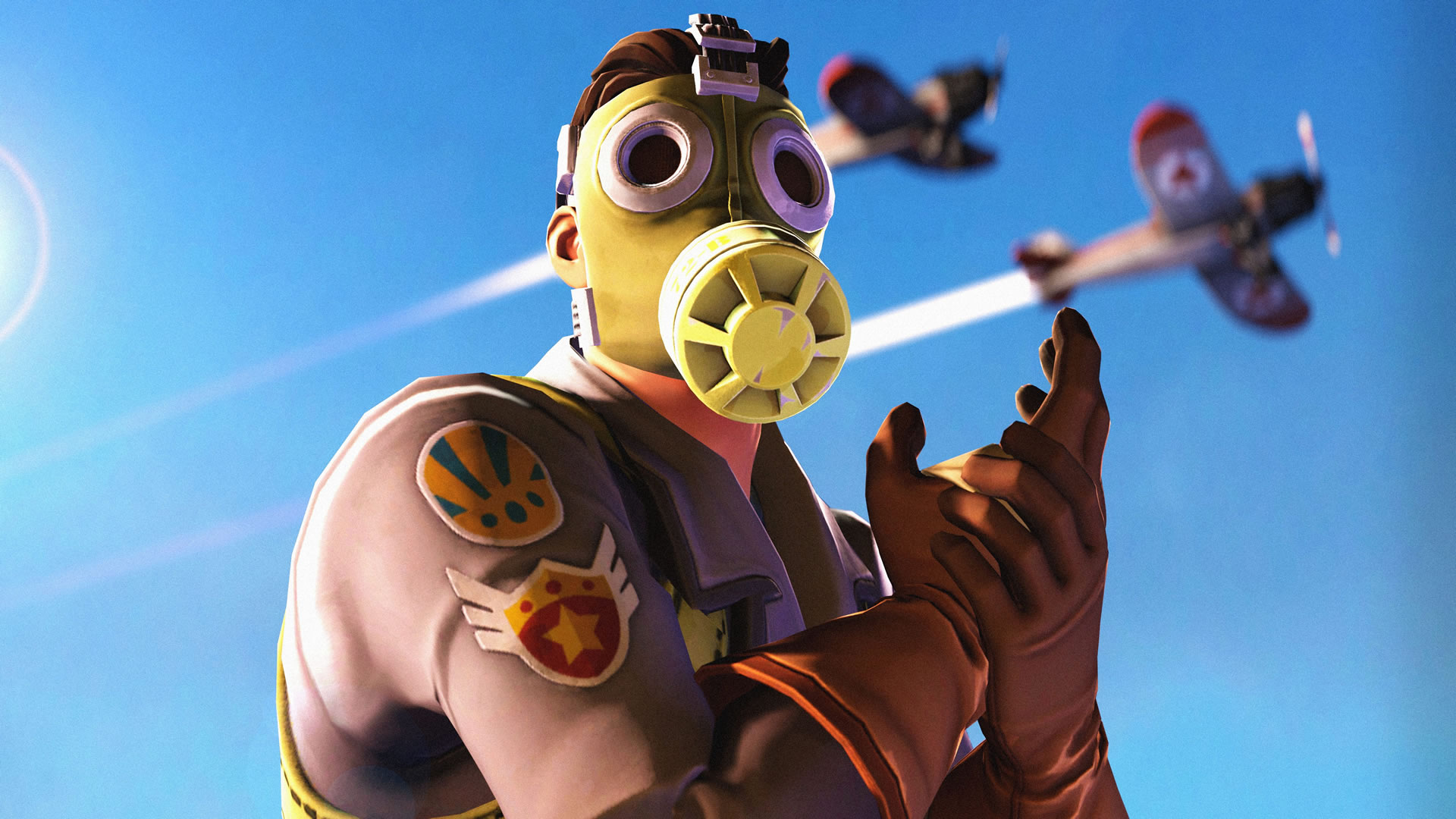 download wallpaper: Fortnite – Sky Stalker wallpaper