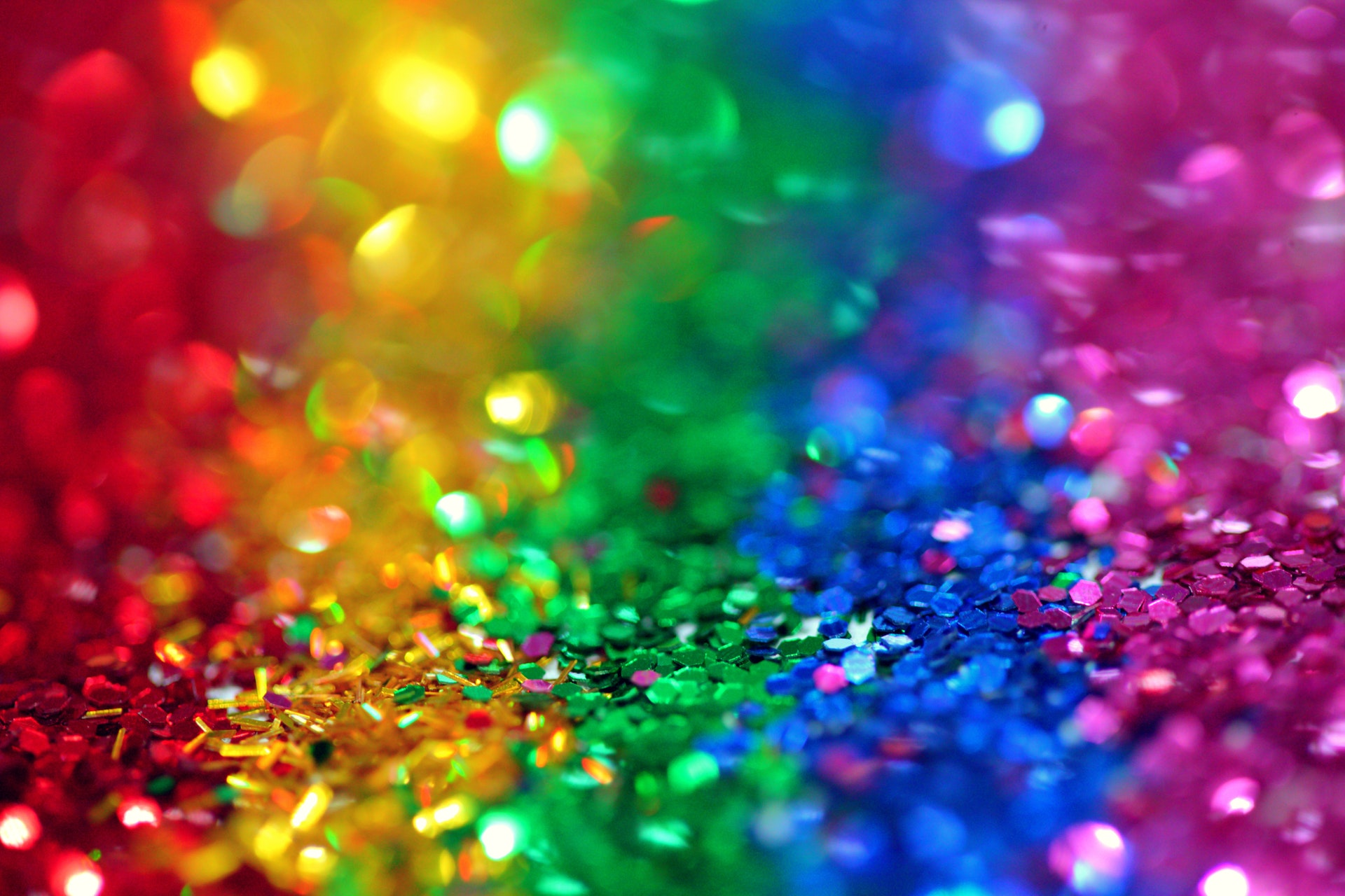 download wallpaper: gekleurde glitters wallpaper