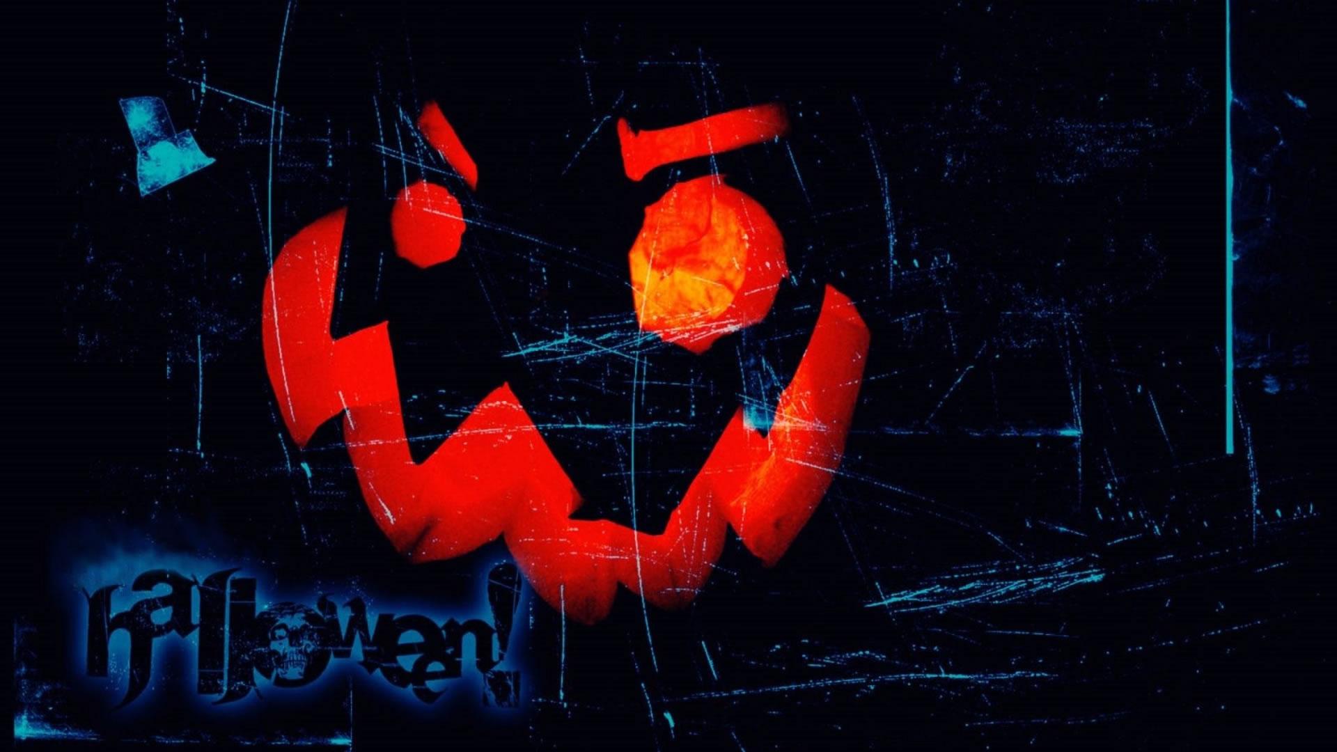 download halloween pompoen wallpaper