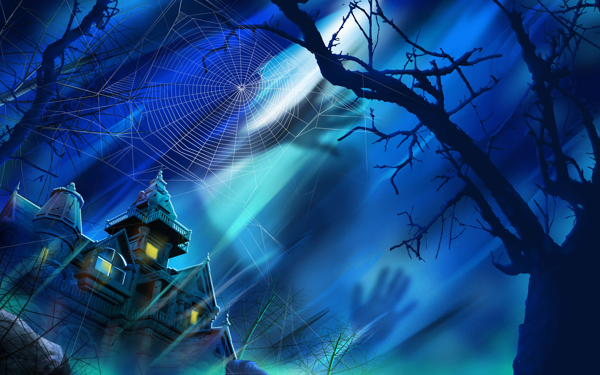 download spookhuis wallpaper