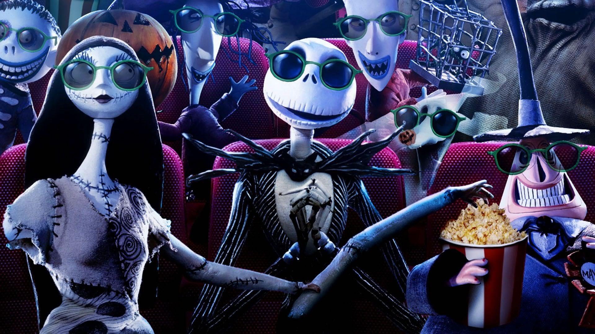 download wallpaper: Halloween bioscoop wallpaper