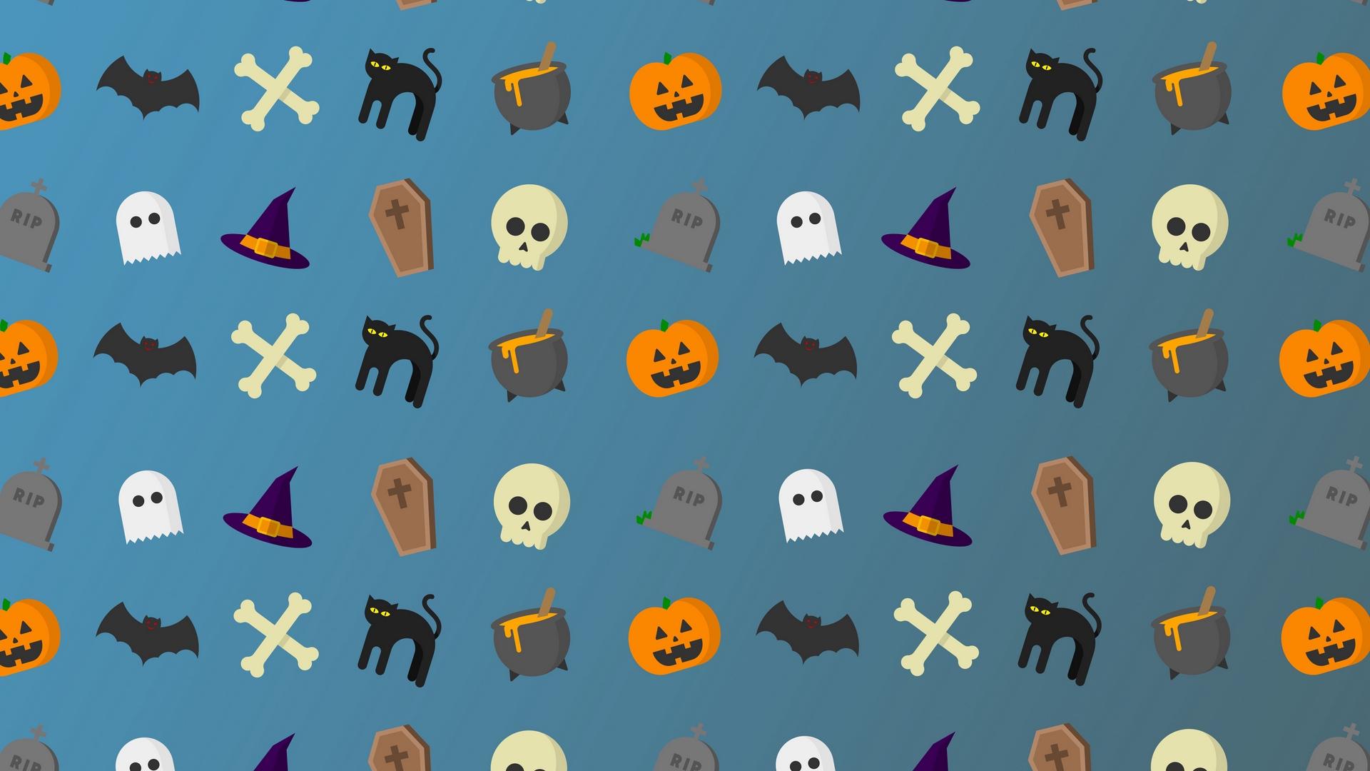download wallpaper: Halloween clipart wallpaper