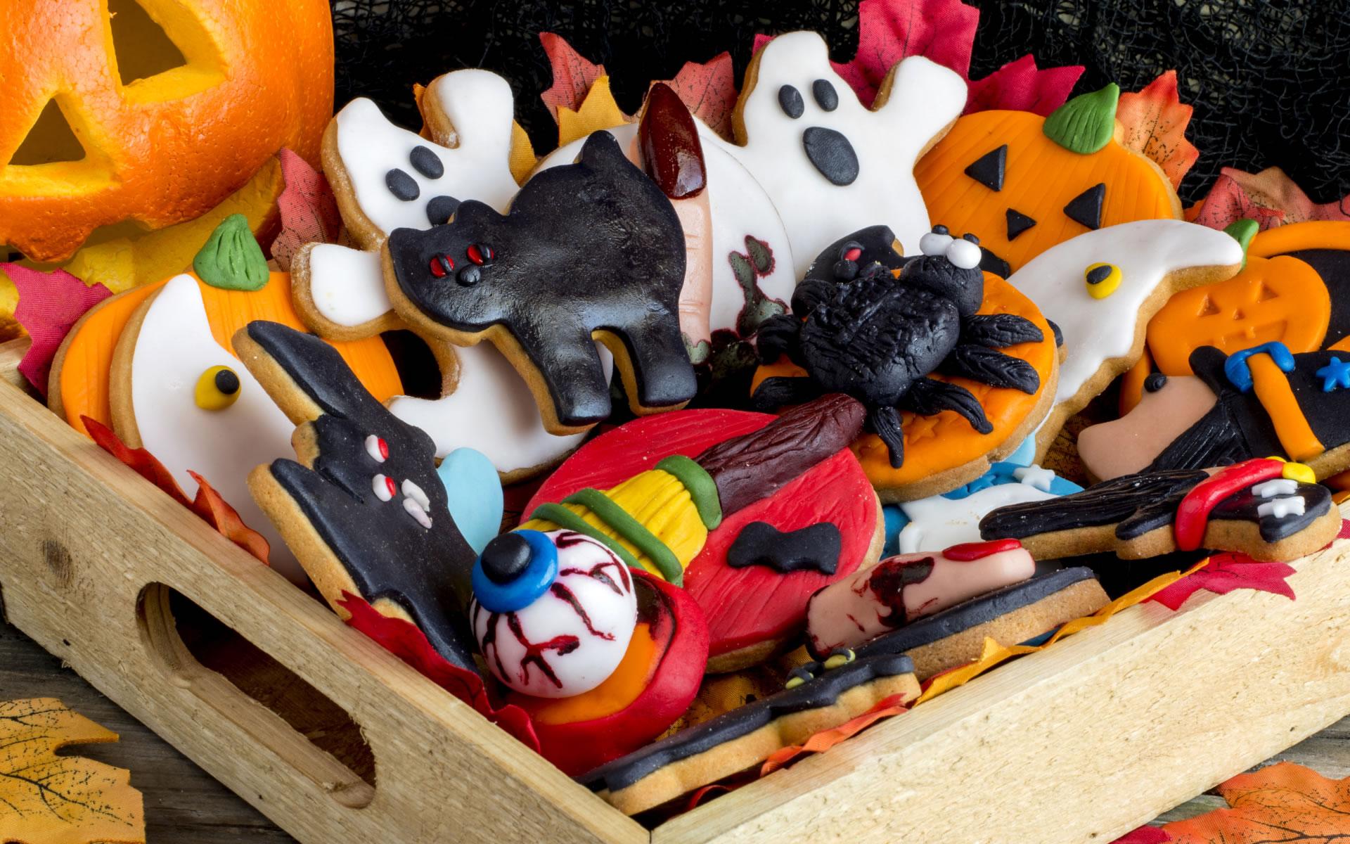 download wallpaper-halloween-koekjes wallpaper