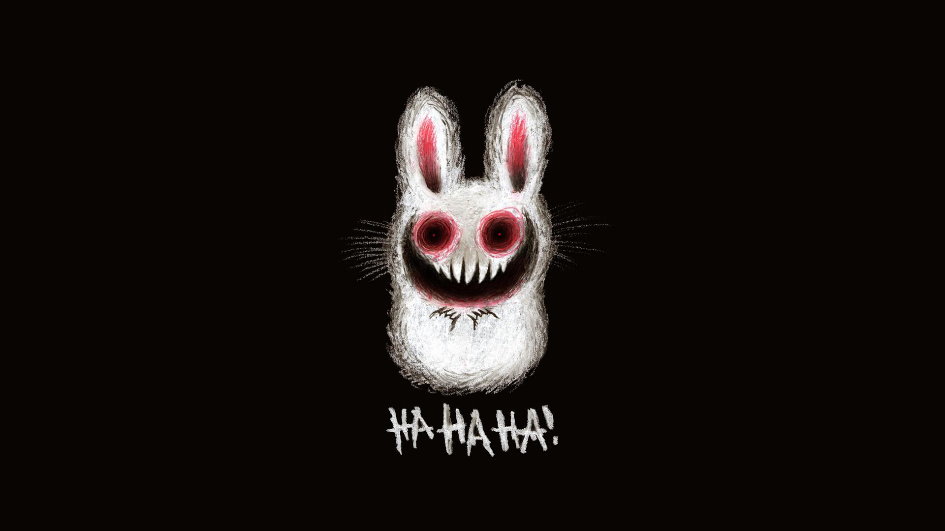 download wallpaper: Halloween konijntje wallpaper