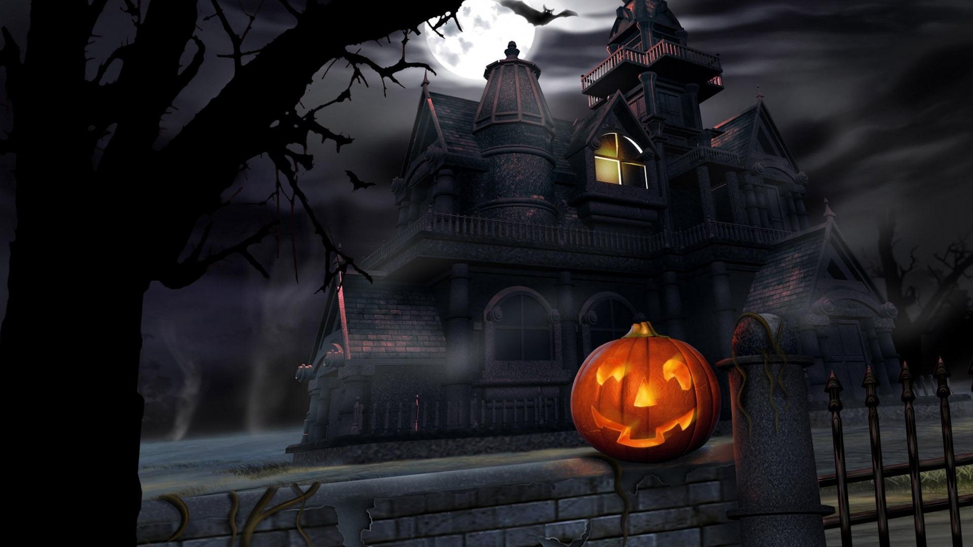 download wallpaper: Halloween pompoenlantaarn wallpaper