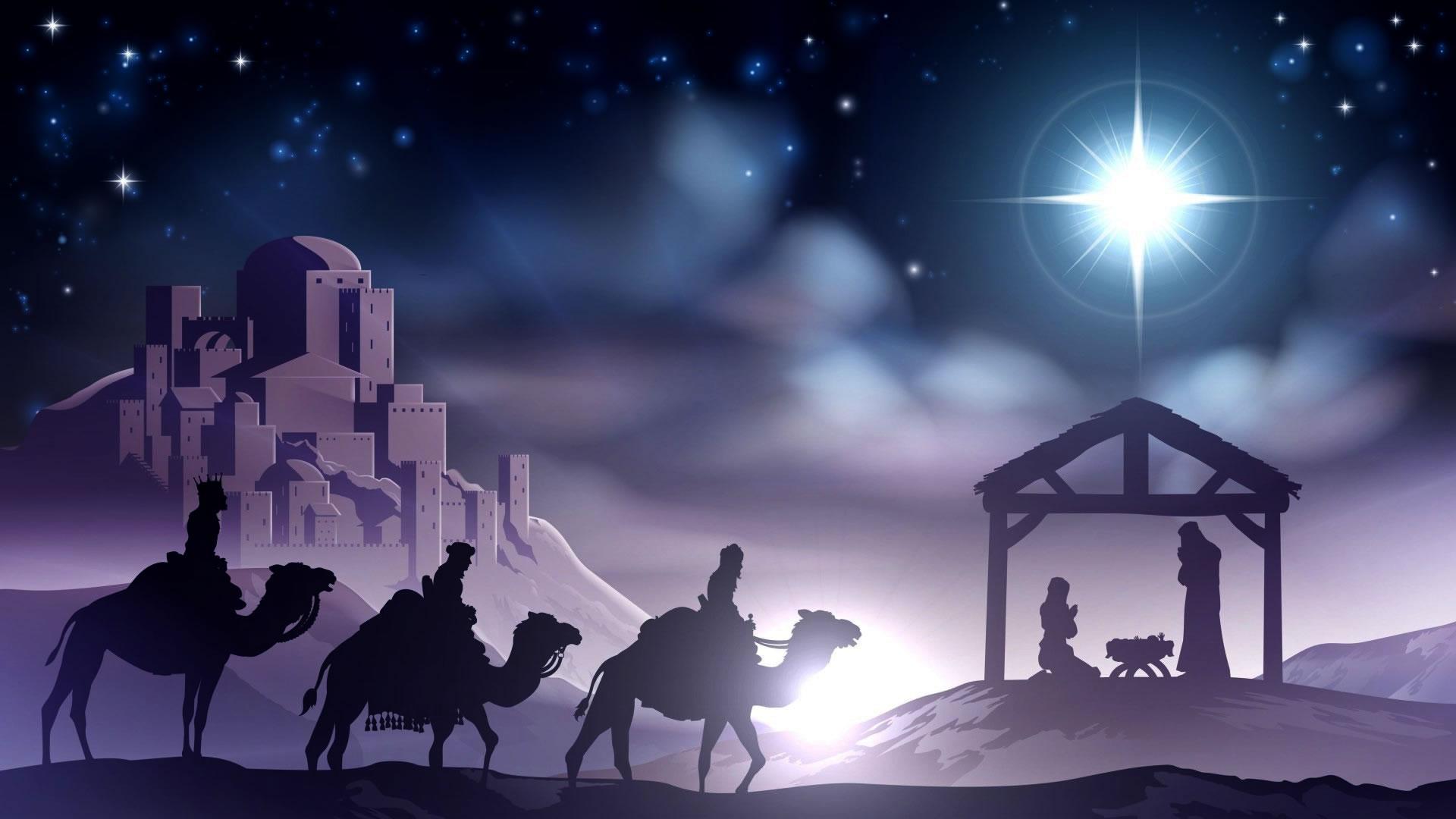download wallpaper: Kerstverhaal – de geboorte van Jezus wallpaper
