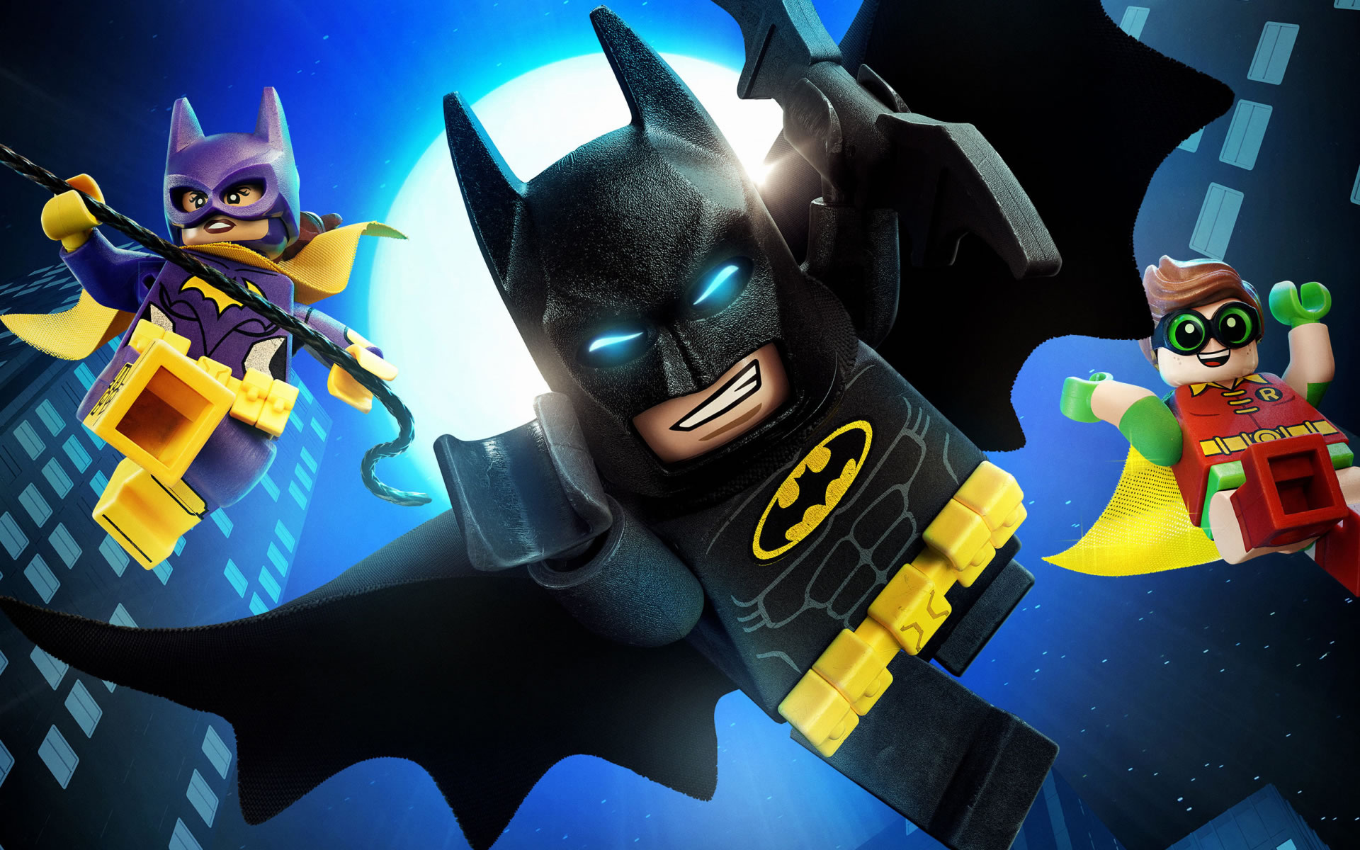 download wallpaper: Lego Batman en Catwoman en Robin wallpaper