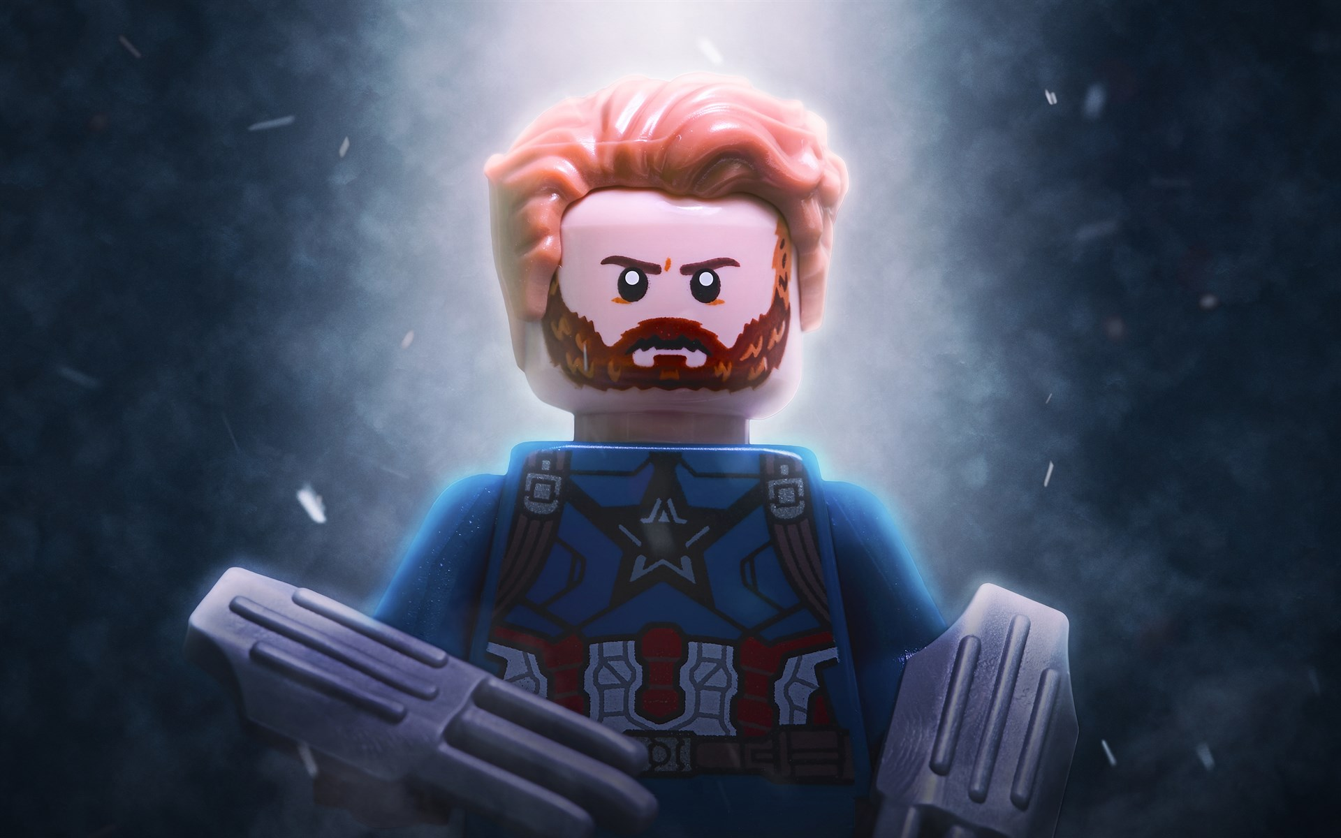 download wallpaper: LEGO Captain America wallpaper