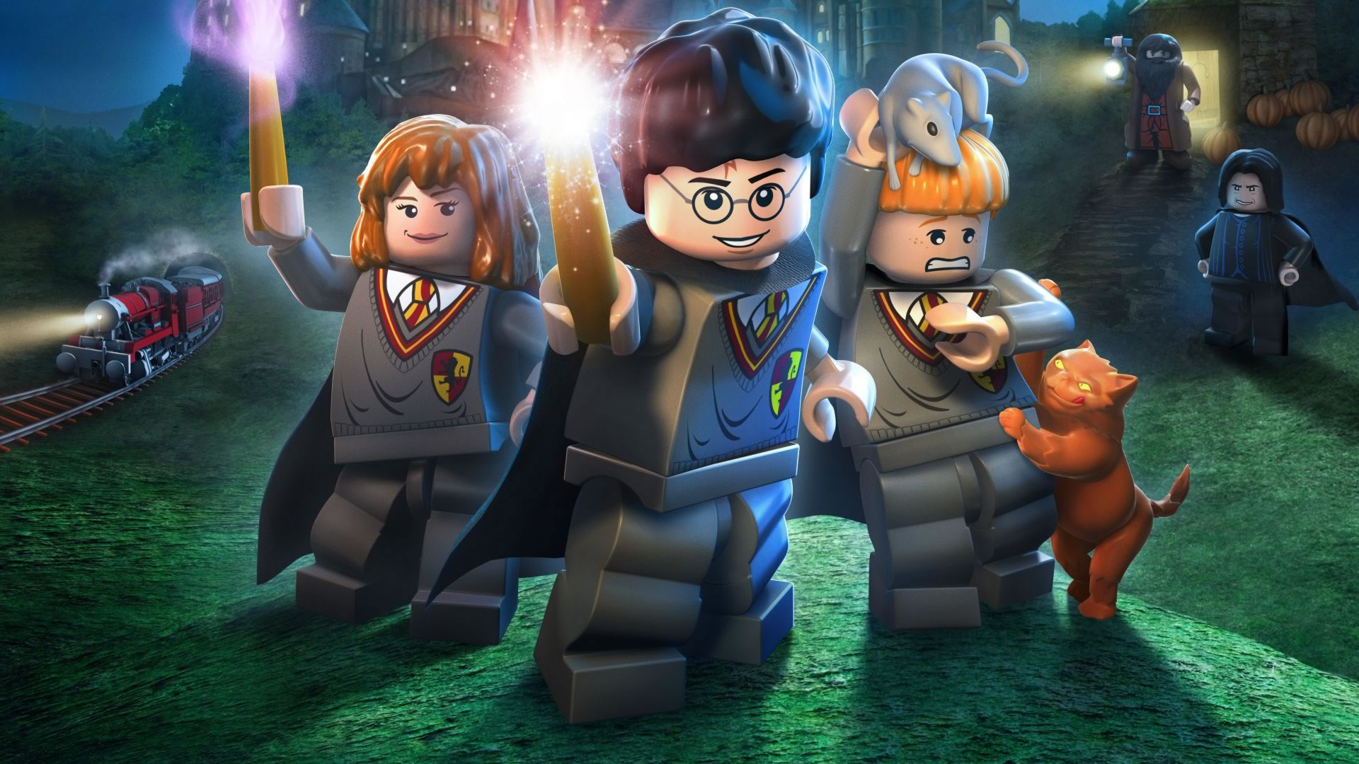 download wallpaper: LEGO Harry Potter wallpaper