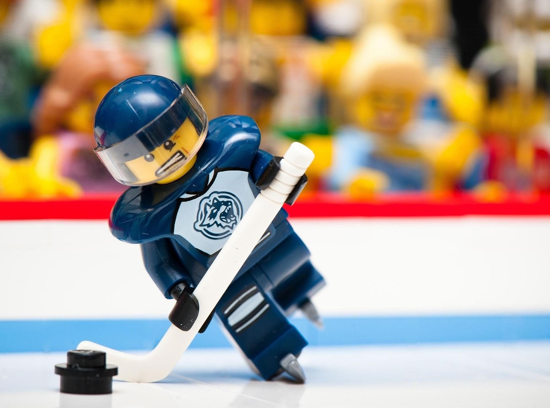 download wallpaper: Lego ijshockey wallpaper