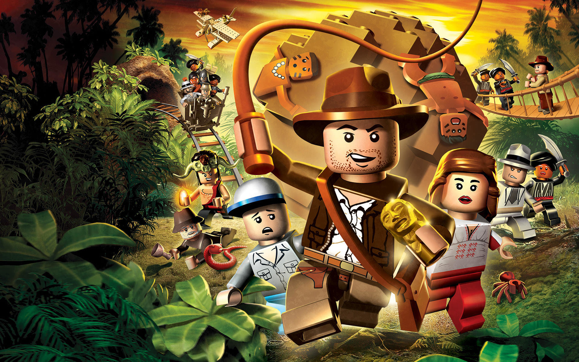 download wallpaper: LEGO Indiana Jones wallpaper